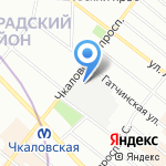 Spbmoneta.ru на карте Санкт-Петербурга