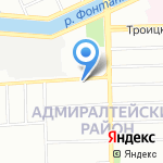 Питание+ на карте Санкт-Петербурга