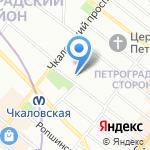 Деревотека на карте Санкт-Петербурга