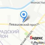 Средняя общеобразовательная школа №55 на карте Санкт-Петербурга