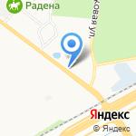 Мир Садовых Душей на карте Санкт-Петербурга