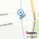 Водадому на карте Санкт-Петербурга