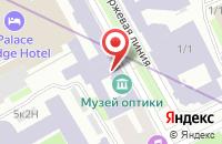 Схема проезда до компании Футураша АИМК в Санкт-Петербурге