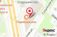 Схема проезда до компании ДеКанто в Санкт-Петербурге