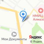Содействие на карте Санкт-Петербурга