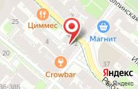 Схема проезда до компании Оргэнергопром в Санкт-Петербурге