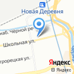 Мерседес на карте Санкт-Петербурга