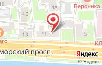 Схема проезда до компании Рич в Санкт-Петербурге