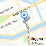 Суши шоп на карте Санкт-Петербурга