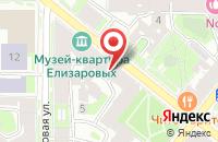 Схема проезда до компании Ирбис в Октябрьском