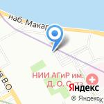 Теледроид на карте Санкт-Петербурга