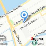 Pushkin Art Gallery на карте Санкт-Петербурга