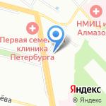 Fin-Stok на карте Санкт-Петербурга