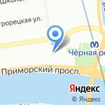 Логика безопасности на карте Санкт-Петербурга