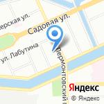 Навис на карте Санкт-Петербурга