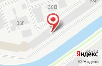 Схема проезда до компании Комбайт в Санкт-Петербурге
