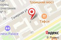 Схема проезда до компании Технический Холдинг «Энергосистемы» в Санкт-Петербурге