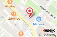 Схема проезда до компании Аб Инвест в Санкт-Петербурге