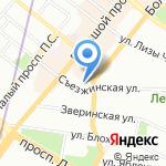 Avantage на карте Санкт-Петербурга