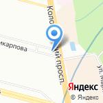 Пекарня на карте Санкт-Петербурга