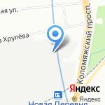 АэроСтар на карте Санкт-Петербурга