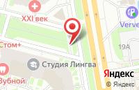 Схема проезда до компании Созвездие в Санкт-Петербурге