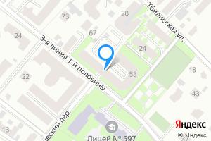 Снять однокомнатную квартиру в Санкт-Петербурге 3-я линия 1-й половины, 53