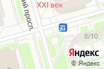 Схема проезда до компании Моя рыбка в Санкт-Петербурге