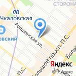 Филя на карте Санкт-Петербурга