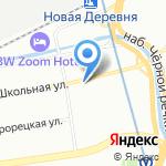 Невский Гранит на карте Санкт-Петербурга