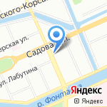Нотариус Бурчалкин М.Л. на карте Санкт-Петербурга