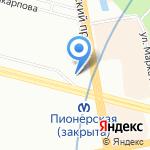 Книжный дом на карте Санкт-Петербурга