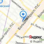 Учебный центр Виктории Томашивской на карте Санкт-Петербурга