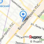 Mania Grandiosa на карте Санкт-Петербурга
