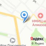 ИНДЕКСПРОМ на карте Санкт-Петербурга