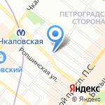 59-57 на карте Санкт-Петербурга