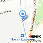 Агат-1 на карте Санкт-Петербурга