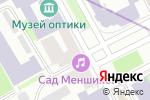 Схема проезда до компании FASHION CARRIE в Санкт-Петербурге