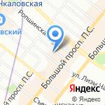 ЖСК №1385 на карте Санкт-Петербурга