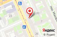 Схема проезда до компании Мирра в Санкт-Петербурге