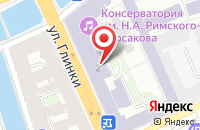 Схема проезда до компании Знаки в Санкт-Петербурге