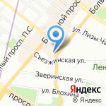 bрайтbерри на карте Санкт-Петербурга