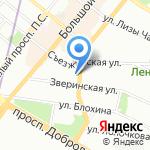 Latini на карте Санкт-Петербурга