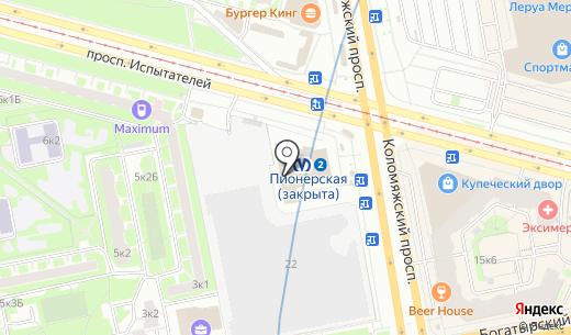 Хорошая связь. Схема проезда в Санкт-Петербурге