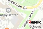 Схема проезда до компании Доктрина в Санкт-Петербурге