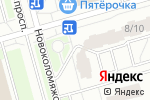 Схема проезда до компании Новоколомяжский 8/10, ТСЖ в Санкт-Петербурге