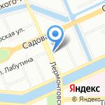 Детский сад №41 на карте Санкт-Петербурга