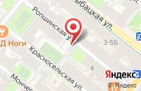 Схема проезда до компании Северная Столица в Санкт-Петербурге