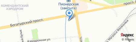 Вкусняшка на карте Санкт-Петербурга