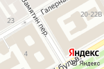 Схема проезда до компании Tefsi в Санкт-Петербурге